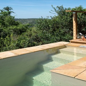 Kariega Game Reserve - Luxury South Africa Honeymoon Packages - Uzokhi Lodge pool