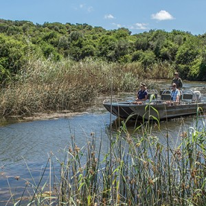 Kariega Game Reserve - Luxury South Africa Honeymoon Packages - boat safari