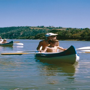 Kariega Game Reserve - Luxury South Africa Honeymoon Packages - canoeing