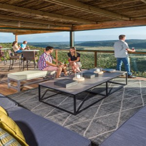Kariega Game Reserve - Luxury South Africa Honeymoon Packages - lounge