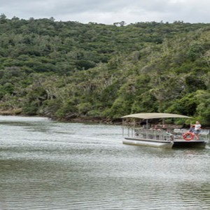 Kariega Game Reserve - Luxury South Africa Honeymoon Packages - river cruising