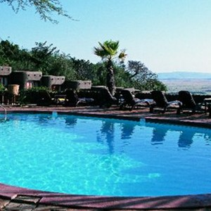 Mara Serena Lodge - Kenya Safari Honeymoon - Swimming pool