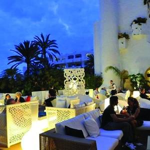 Jardin Tropical - Tenerife Honeymoon Packages - terrace