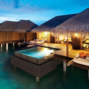 Sunset Ocean Family Suite 7 Ayada Maldives Maldives Honeymoon Packages