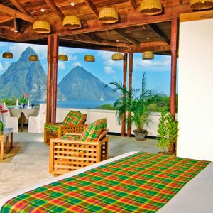 Luxury - Holidays - St Lucia - Anse Chastanet - Bedroom 1