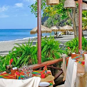 Luxury - Holidays - St Lucia - Anse Chastanet - Restaurant