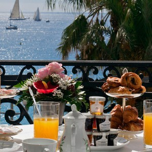 le negresco nice france honeymoon Packages restaurant view