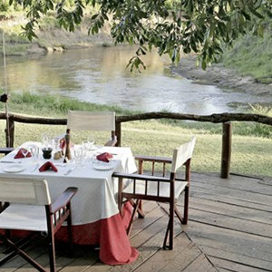 Governors Main Campt - Kenya Honeymoon Packages - dining
