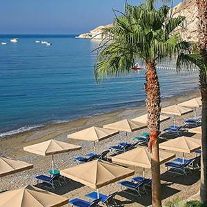 honeymoon packages Cyprus - Columbia Beach Hotel Pissouri - beach 2