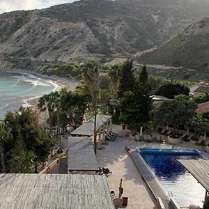 honeymoon packages Cyprus - Columbia Beach Hotel Pissouri - exterior