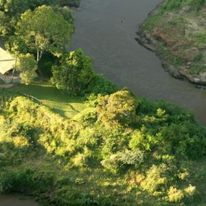 South Africa Honeymoon Packages Governors Camp, Kenya Aerial View Of Camp