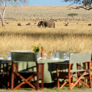 South Africa Honeymoon Packages Governors Camp, Kenya Dining In The Safari