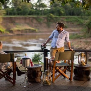 South Africa Honeymoon Packages Governors Camp, Kenya Romantic Dining On Deck