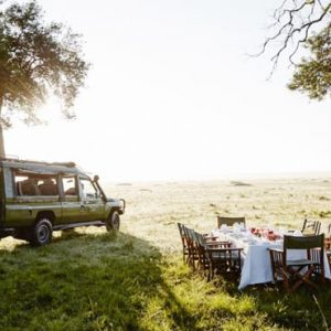 South Africa Honeymoon Packages Governors Camp, Kenya Game Drive Dining