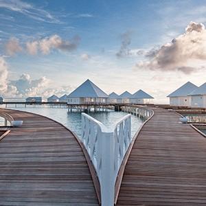 Maldives honeymoon packages - Diamonds Thudufushi - villas