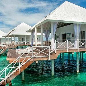 Maldives honeymoon packages - Diamonds Thudufushi - water villa
