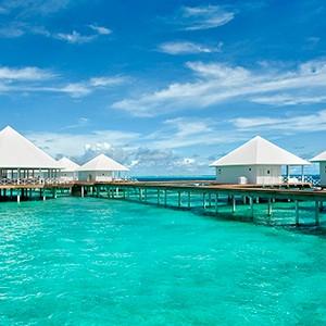 Maldives honeymoon packages - Diamonds Thudufushi - water villas