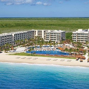 Dreams Riviera Cancun Resort & Spa - Mexico Honeymoon packages- aerial