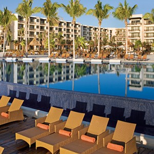 Dreams Riviera Cancun Resort & Spa - Mexico Honeymoon packages- pool side