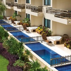 Dreams Riviera Cancun Resort & Spa - Mexico Honeymoon packages- balcony