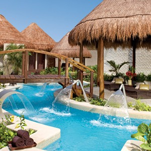 Dreams Riviera Cancun Resort & Spa - Mexico Honeymoon packages- huts