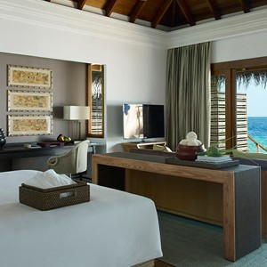 Dusit Thani Maldives - Ocen Villa With Pool Bedroom