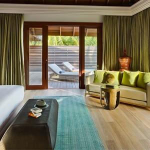 Dusit Thani Maldives - Two bedroom beach residence bedroom