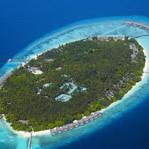 honeymoon packages - Maldives - Dusit Thani - Aerial