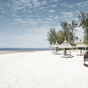 Luxury Holidays - Mauritius Honeymoon - Heritage Le Telfair Golf Resort - beach
