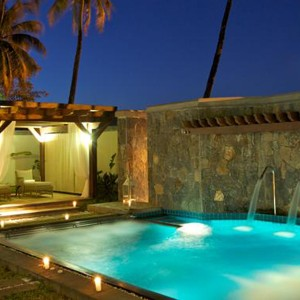 Luxury Holidays - Mauritius Honeymoon - Heritage Le Telfair Golf Resort - villa pool