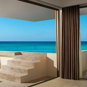 Mexico Honeymoon Packages Secrets Aura Cozumel Preferred Club Rooftop Ocean Front Suite With Plunge Pool 3