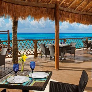 Mexico Honeymoon Packages Secrets Aura Cozumel Dining 7