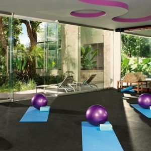 Mexico Honeymoon Packages Secrets Aura Cozumel Gym 2