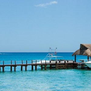 Mexico Honeymoon Packages Secrets Aura Cozumel Jetty