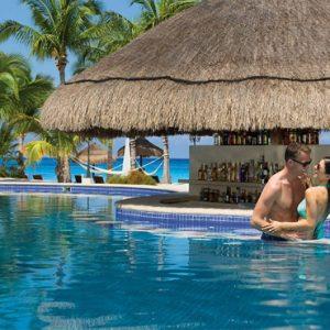 Mexico Honeymoon Packages Secrets Aura Cozumel Preferred Club Swim Up Bar