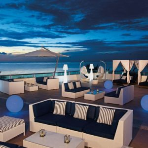Mexico Honeymoon Packages Secrets Aura Cozumel Sky Bar And Sushi