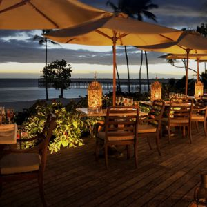 Dining 2 The Residence Zanzibar Zanzibar Honeymoon Packages