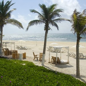 grand velas riviera - honeymoon packages - mexico - beach walk