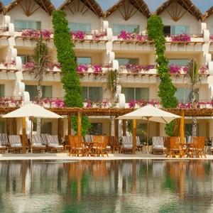 grand velas riviera - honeymoon packages - mexico - exterior pool