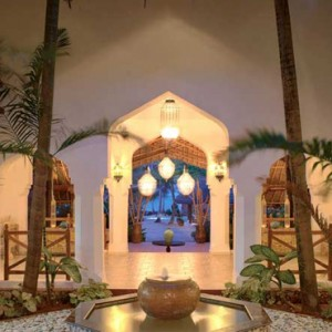 Luxury Zanzibar Holiday Packages Bluebay Beach Resort And Spa Lobby