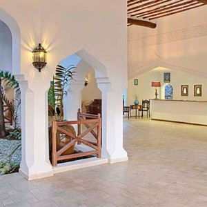 Luxury Zanzibar Holiday Packages Bluebay Beach Resort And Spa Lobby 2