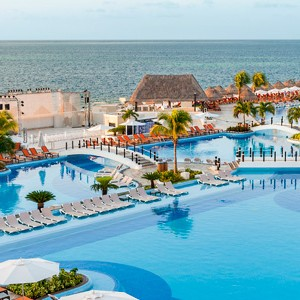 moon palace golf and spa resort - mexico honeymoon packages - main pool