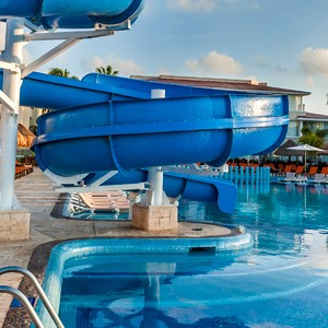 moon palace golf and spa resort - mexico honeymoon packages - water slide