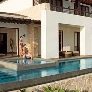 secrets playa mujeres - mexico honeymoon packages - pool villa