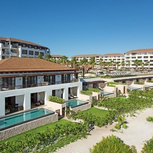 secrets playa mujeres - mexico honeymoon packages - private pool