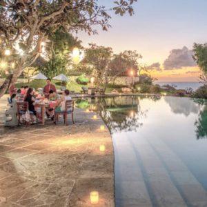Bali Honeymoon Packages Four Seasons Bali At Jimbaran Pool Terrace Cafe