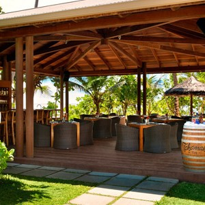 Kempinski Seychelles - seychelles honeymoon packages - beach bar