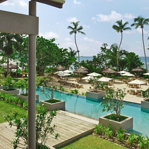 Kempinski Seychelles - seychelles honeymoon packages - pool area