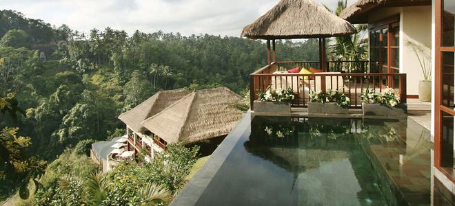 bali honeymoon - Bali - Ubud hanging gardens - Private Pool