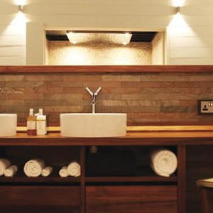 honeymoon packages St Lucia - Boucan By Hotel Chocolat -Bathroom